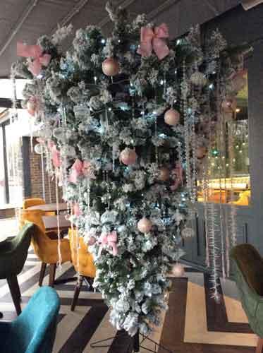 Breeze London upside down Christmas Tree