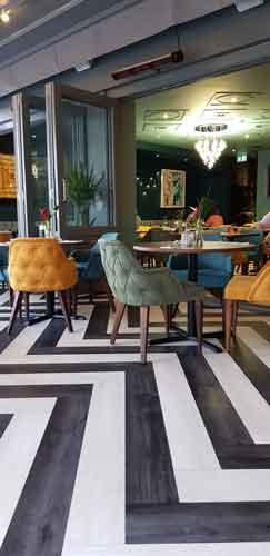 Breeze London restaurant interior