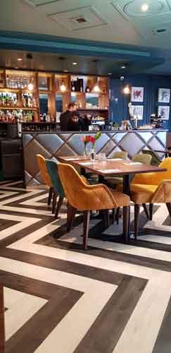 Breeze London restaurant