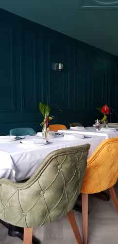 Breeze London private dining