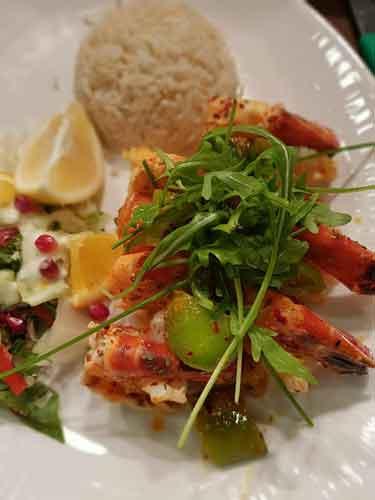 Breeze London Food