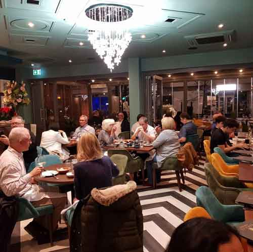 Guests at Breeze London